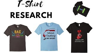 Merch By Amazon: Researching The Old School Way (Live)