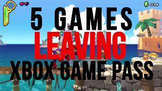 5 Games Leaving Xbox Game Pass At The End Of September 2019