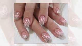 Дизайн ногтей Акриловыми красками Фото. Акриловые ногти.