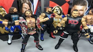WWE ELITE 61 AJ STYLES & KEVIN OWENS ACTION FIGURE REVIEW!