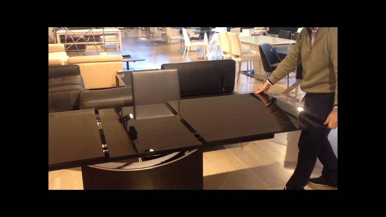 C mo abrir una mesa de comedor con la tapa de cristal for Mesas de comedor de cristal