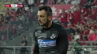 REZUMAT: UTA - FCSB 1-1. Salvaţi de Ianis Stoica în minutul 90