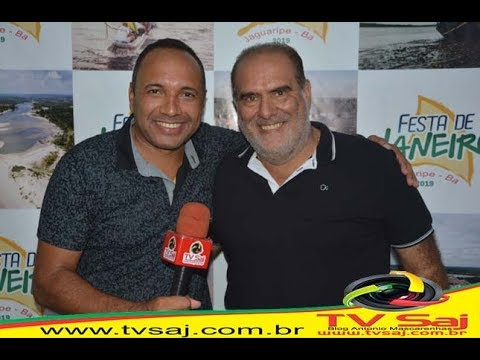 JAGUARIPE: Ricardo Moura Prefeito de Valença, prestigia a Festa de Janeiro