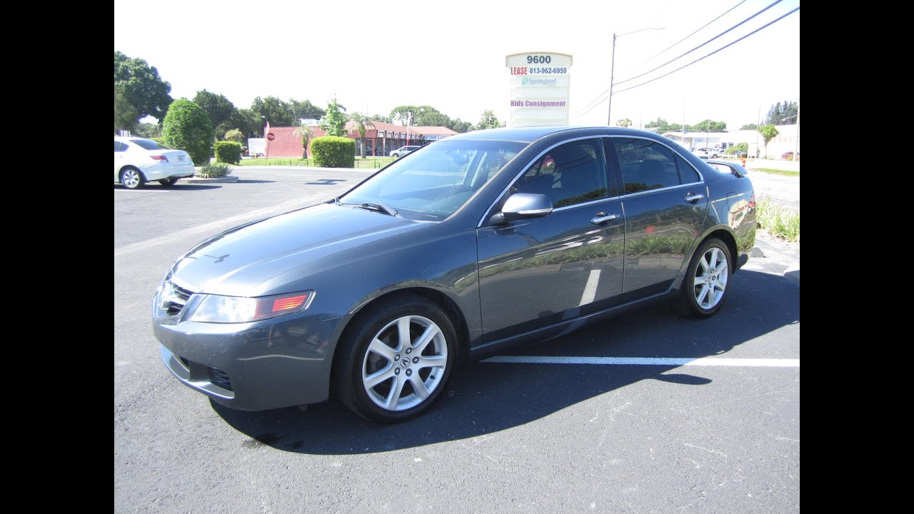 SOLD Acura TSX IVTEC Meticulous Motors Inc Florida For Sale - Acura tsx 2004 for sale