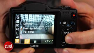 Canon's 30x zoom PowerShot SX500 IS