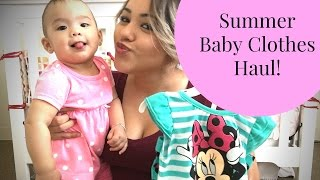 Summer Clothes Haul || Co-sleeping || July 2nd 2016 ||