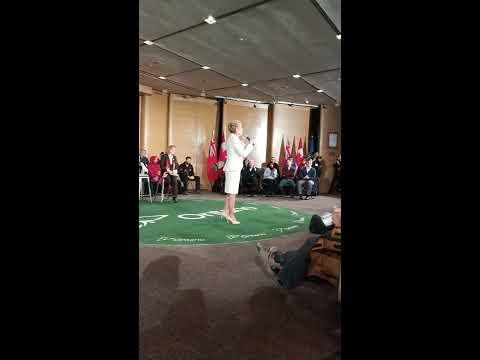 Man berates Kathleen Wynne - compares Ontario to Russia   Ottawa 1/18/18