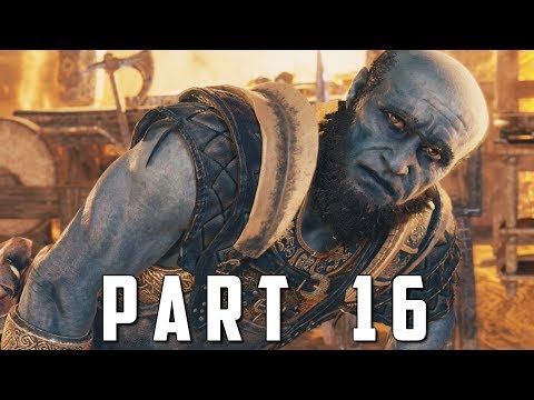 GOD OF WAR Walkthrough Gameplay Part 16 - BROK (God of War 4)