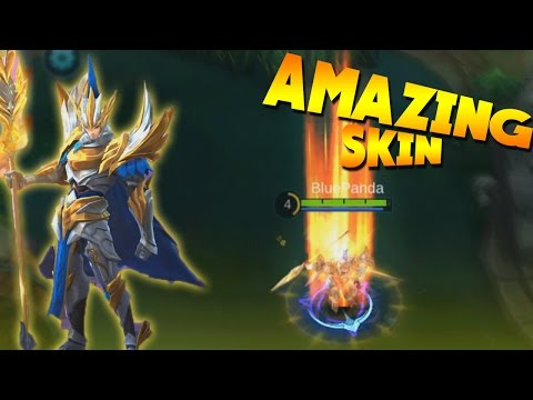 Mobile Legends Yun Zhao DRAGON KNIGHT Skin Gameplay!