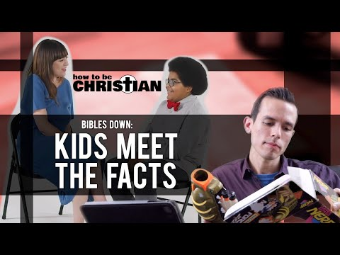 Bibles Down: Kids Meet the Facts: response to Kids Meet Someone Who's Had an Abortion (Amelia Bonow)