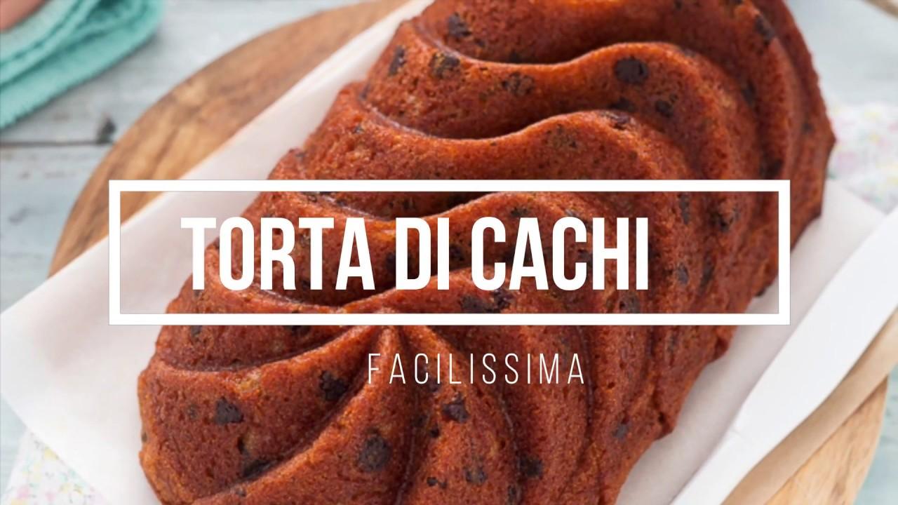 Torta Di Cachi Morbidissima Ricetta Veloce E Facile Chiarapassion