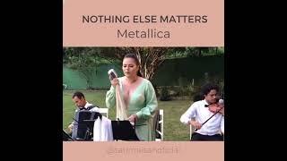 Nothing Else Matters (Violino + Sanfona) por Tati Maisan | AO VIVO - Música para Casamento ES