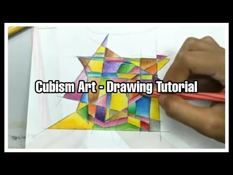Cubism Art - Drawing Tutorial
