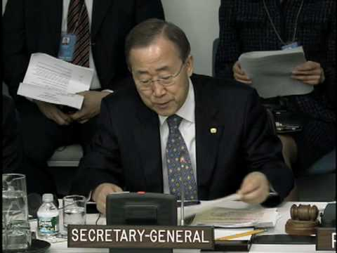 """""""There is encouraging momentum around the world for disarmament and non-proliferation"""" Ban Ki-moon"""