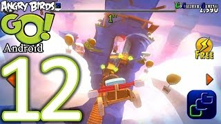 Angry Birds GO Android Walkthrough - Part 12 - AIR Track 1