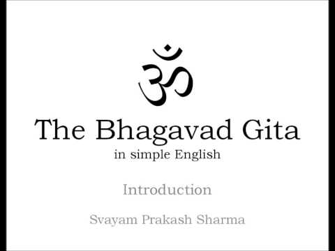 The Bhagavad Gita in Simple English Introduction