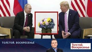 """Встреча В.Путина и Д.Трампа стала главным событием на саммите """"Большой двадцатки"""" в Японии."""