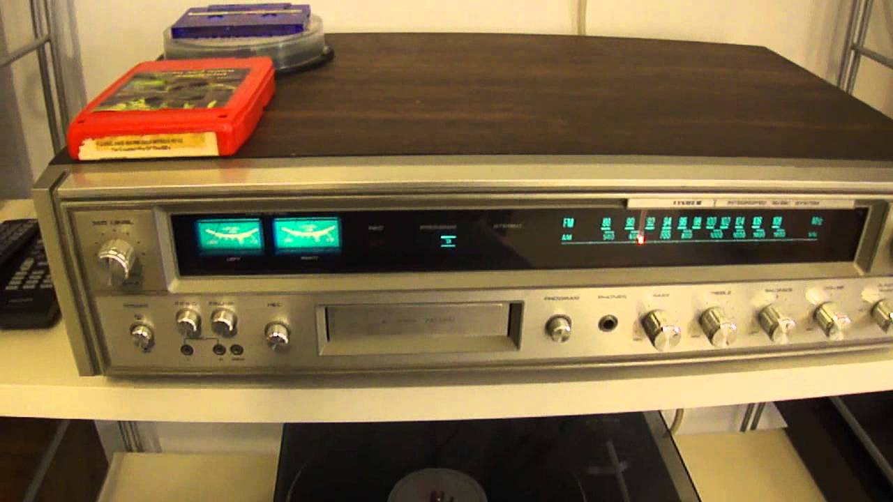 Fisher Mc3010 Integrated Sound System 8 Track Stereo