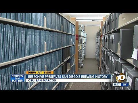"""Brewchive"" preserves San Diego craft brewing history"