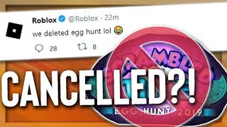 Roblox Cancelled Egg Hunts