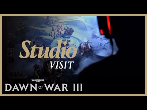 Studio Visit - First hands-on of Dawn of War III at Relic Entertainment