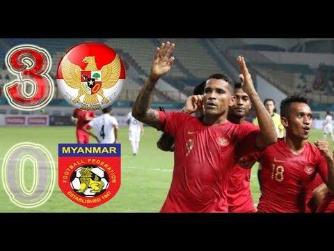 Highlight Goall Timnas Senior INDONESIA vs MYANMAR (3-0) Friendly Match FIFA MATCH DAY