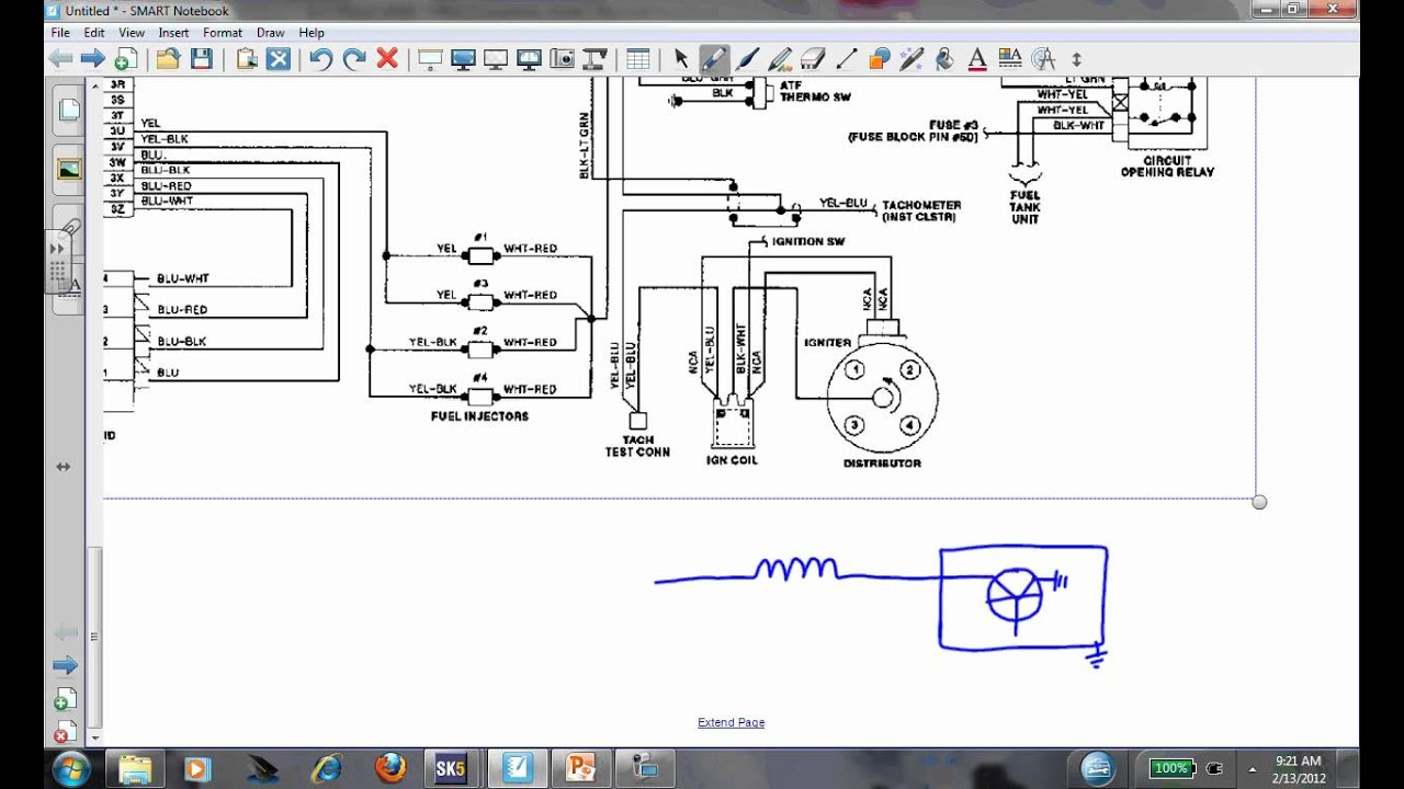 Mazda Bravo Ignition Wiring Diagram Schematics Diagrams Electronic Basic Description Operation And Testing Any Car Youtube Rh Com Mopar Msd