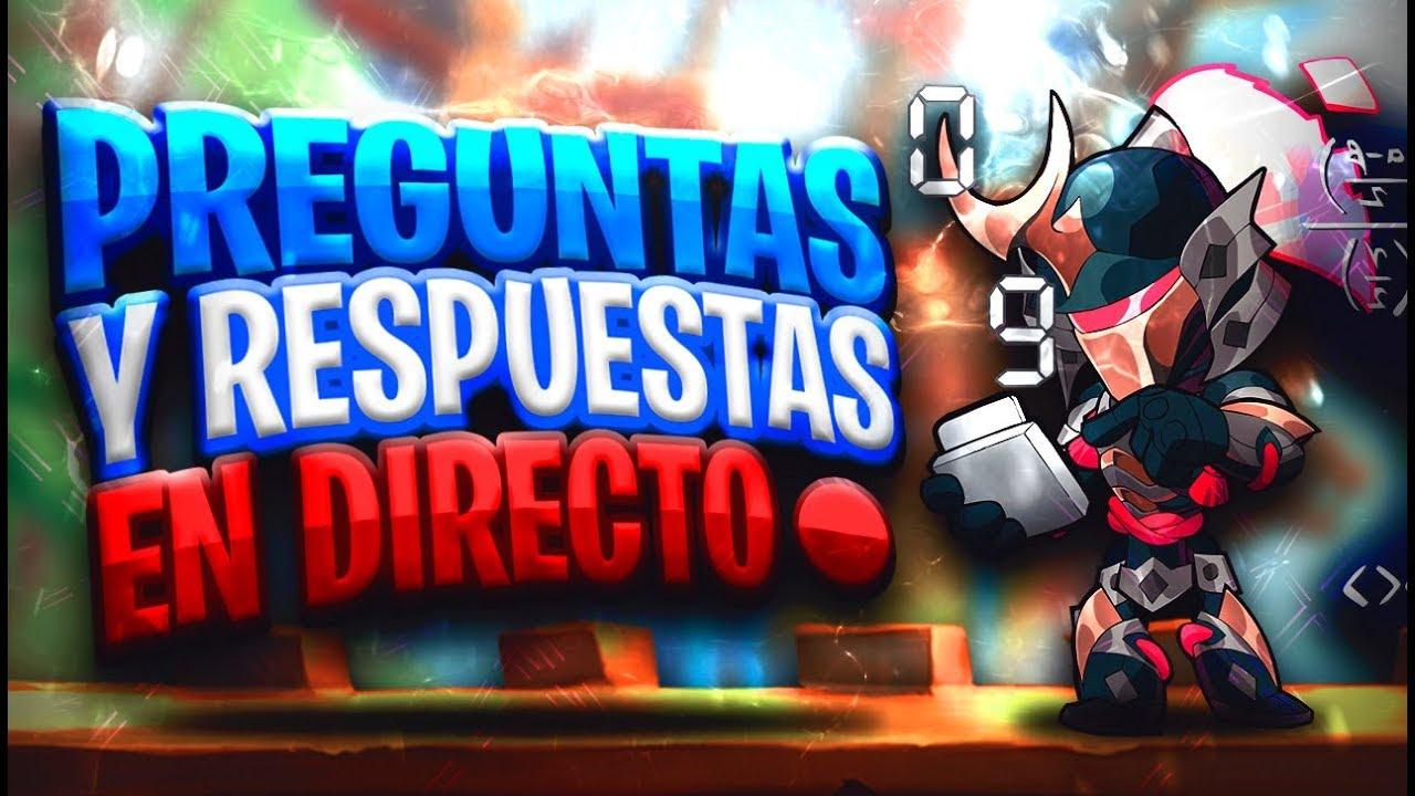 💎PREGUNTAS Y RESPUESTAS EN DIRECTO💎 - Brawlhalla gameplay en español