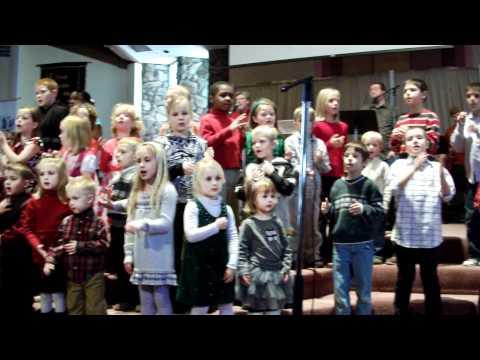 Kids Christmas Choir 2010