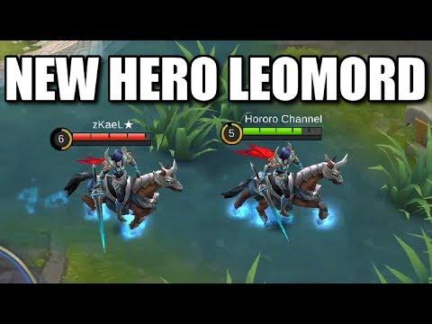 NEW HERO LEOMORD HELL KNIGHT NO MANA FIGHTER HERO