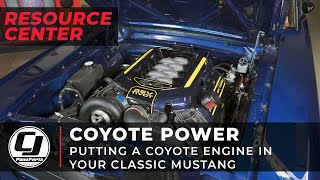 What You Need To Know Before Coyote Swapping Your Classic Mustang