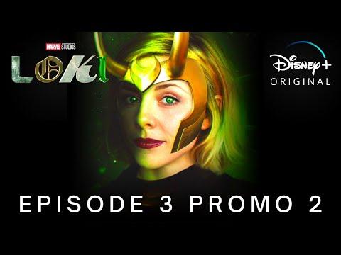 Marvel Studios' LOKI | EPISODE 3 PROMO TRAILER 2 | Disney+