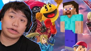 Reacting to INVISIBLE Smash Ultimate Memes