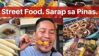 STREET FOOD!!!! PHILIPPINES!!! Filipino Food!!!
