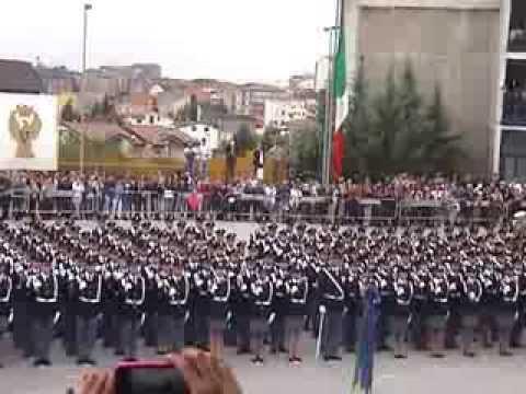 Giuramento Polizia Di Stato 186 Blocco Campobasso Youtube