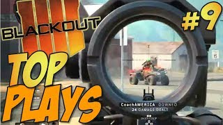 Call of Duty: Black Ops 4 - BLACKOUT Top 10 Plays 9 #CODTopPlays
