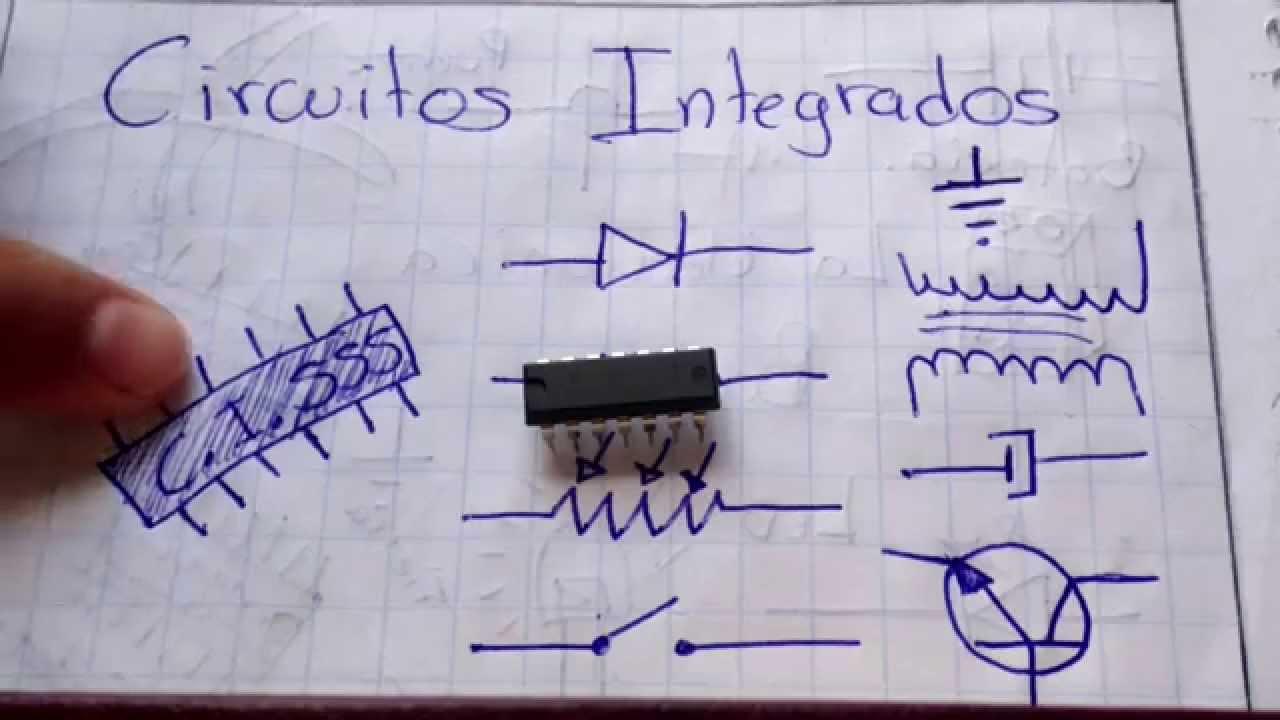 El Circuito Integrado Ci Que Es Como Funciona Y Para Lm8560 Circuit Schematic Sirven La Electronica Basica 8 Youtube