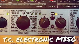 TC Electronic M350: All Effects | Drums, Vocals & Guitar