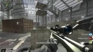 Call of Duty 4: Killhouse M40A3 Quickscoping