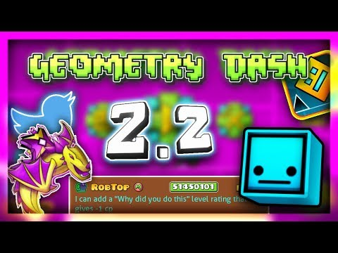 Geometry Dash 2.2: MORE New Infomation about 2.2! (Viprin Talks about Release Date)