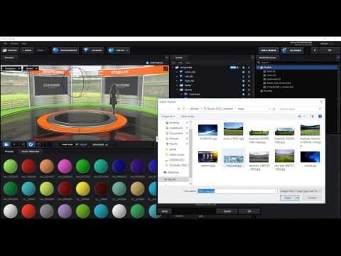 After Effects Element3d Virtual Studio Set Tutorial 2