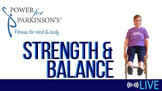 Power for Parkinson's Monday Strength & Balance - Live Streaming Day 146