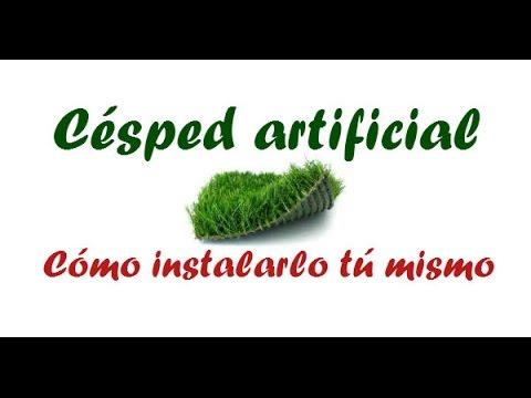 Como instalar cesped artificial sobre tierra youtube - Como instalar cesped artificial sobre tierra ...