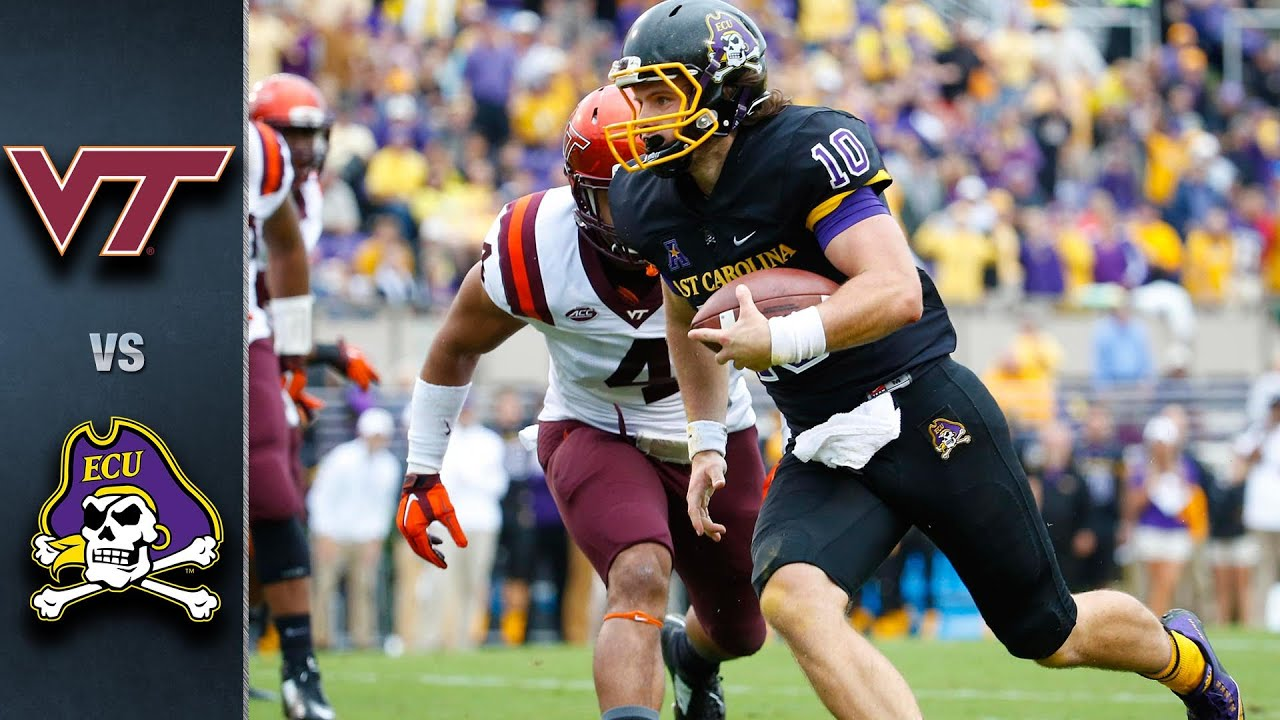 Virginia Tech vs. East Carolina | 2015 ACC Football ...