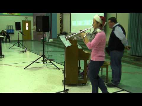 O Holy Night Piano Trumpet