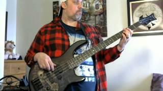 Bass Cover of Here i go again Whitesnake in HD.
