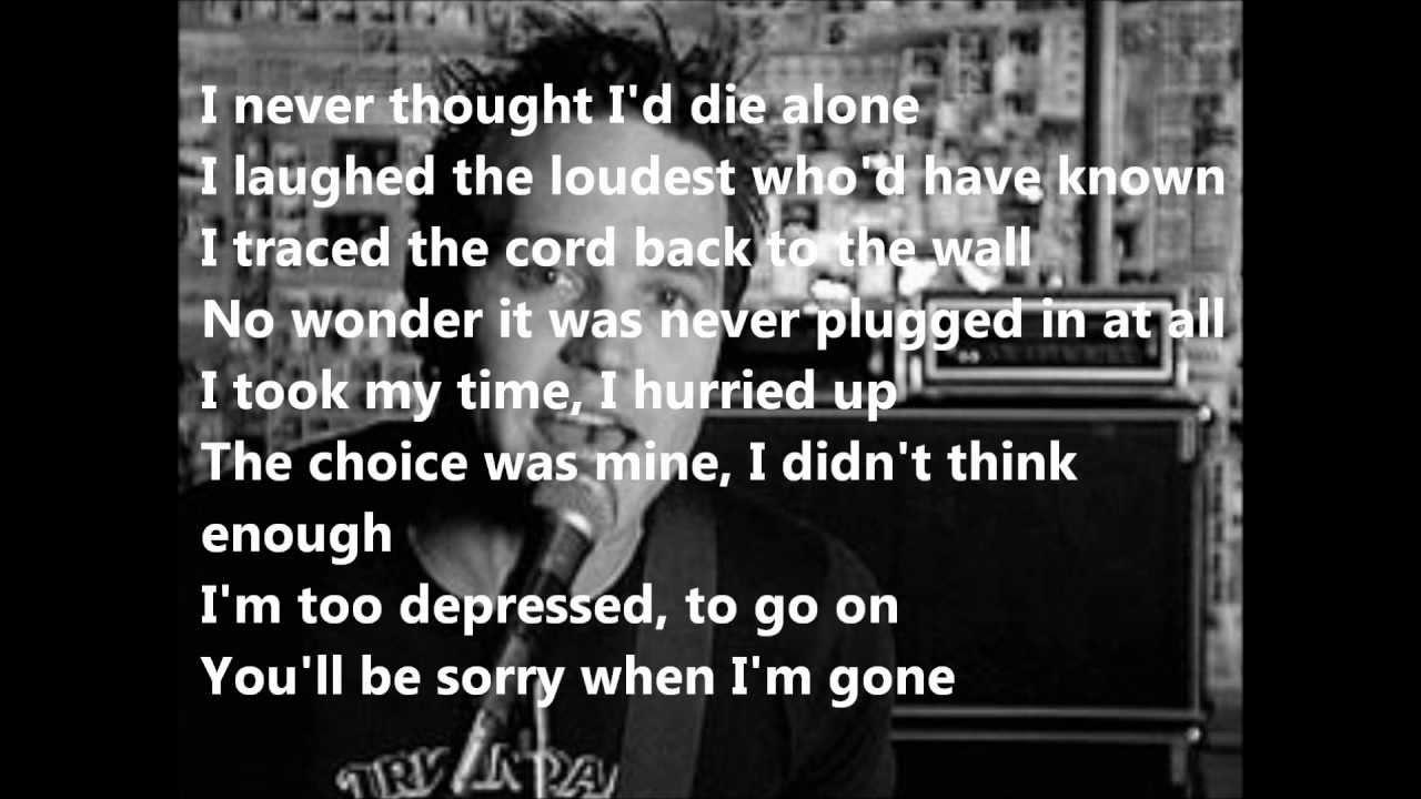 An analysis of blink 182s adams song