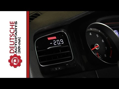 P3 Digital Vent Boost Gauge for MK7 GTI DIY (How to) Install