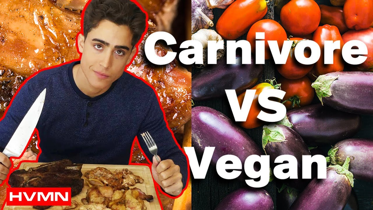 carnivore diet vs vegan