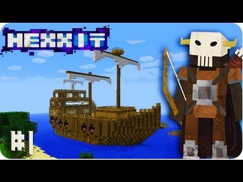Hexxit Minecraft - Welcome to Hexxit Modpack! (Hexxit Part #1)